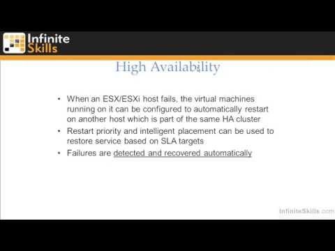 VMware ESXi & vSphere 5.1 Admininstration Training : Virtualization Overview Part 3