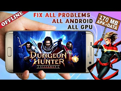 DUNGEON HUNTER HD LATEST V3.5.6 DOWNLOAD For All Android Devices | FIX ALL PROBLEMS | HD GAMEPLAY