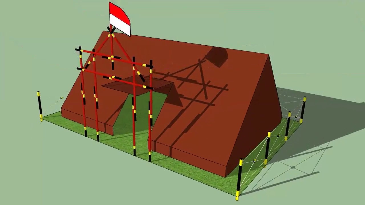 Desain 3D Tenda dan Gapura 15 Tongkat  YouTube