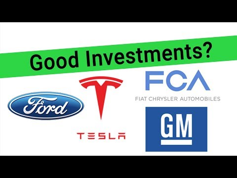 Best Auto Stocks For 2019 - Should I Buy Ford Stock, Tesla Stock, GM Stock Or Fiat's Stock