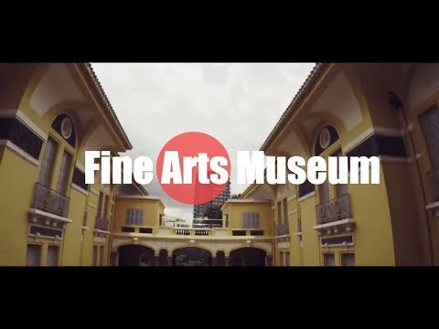 Fine Arts Museum in Ho Chi Minh (Hyperlapse)