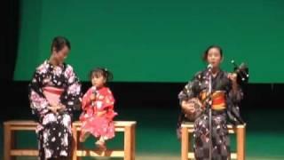 奄美島唄  最年少4歳唄者