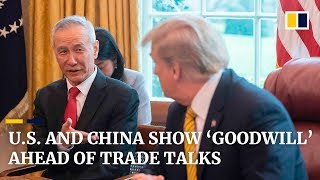 Ahead of new trade war talks, US and China show acts of 'goodwill' on tariffs