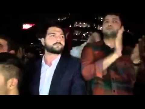 Hürriyet önündeki protestoda AK Parti İstanbul Milletvekili Abdurrahim Boynukalın'ın konuşması