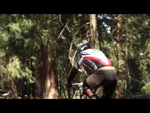 Blind Downhill racer Bobby McMullin