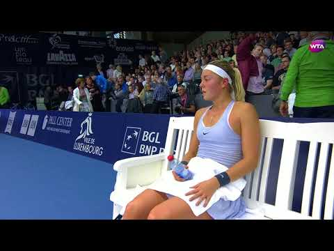 2017 Luxembourg Open Final | Monica Puig vs. Carina Witthoeft | WTA Highlights