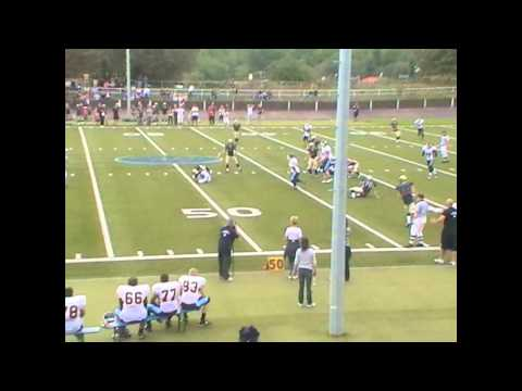 American Football fast Quarterback Sack Berlin Thunderbirds