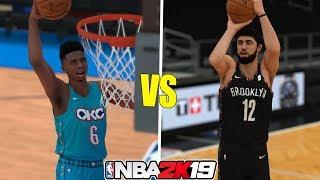 2019 Slam Dunk Contest Winner Hamidou Diallo vs 3-PT Winner Joe Harris 1v1 - NBA 2K19 Video