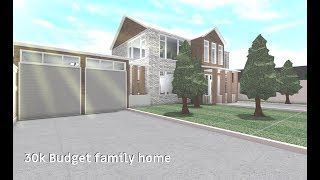 ROBLOX | Bloxburg 30k Budget Family Home