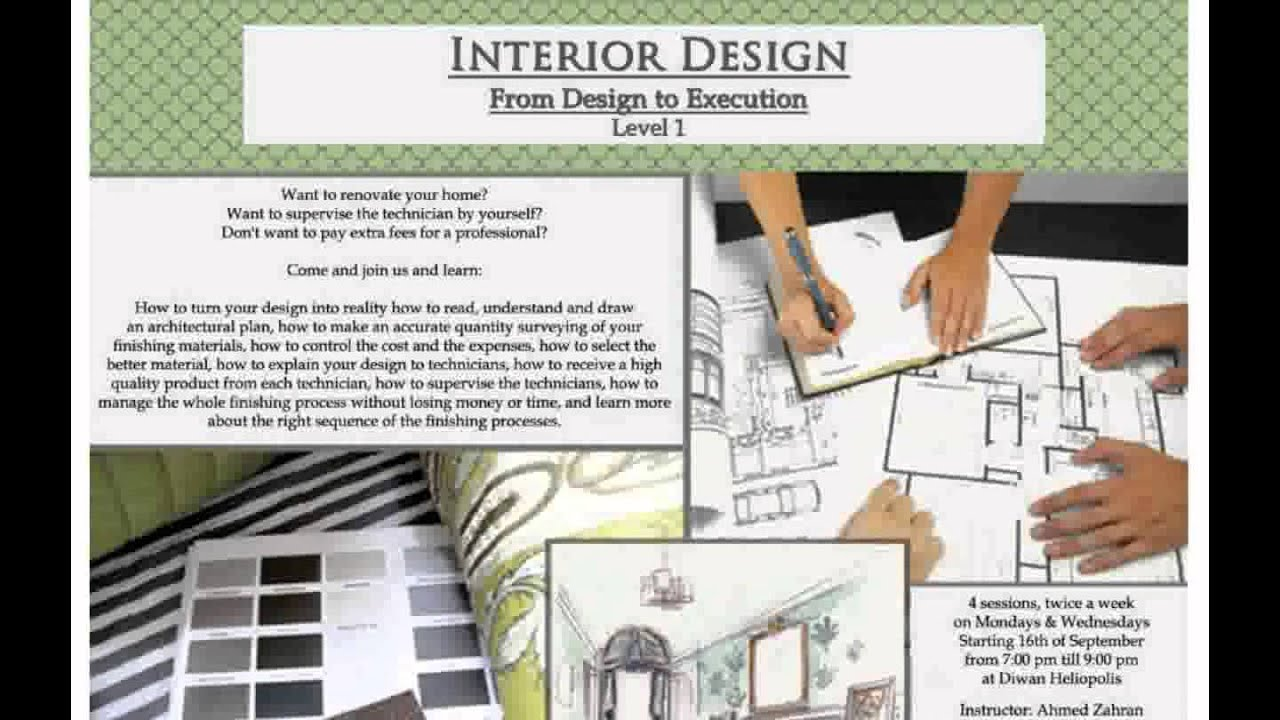 Interior Decoration Courses   Monuara