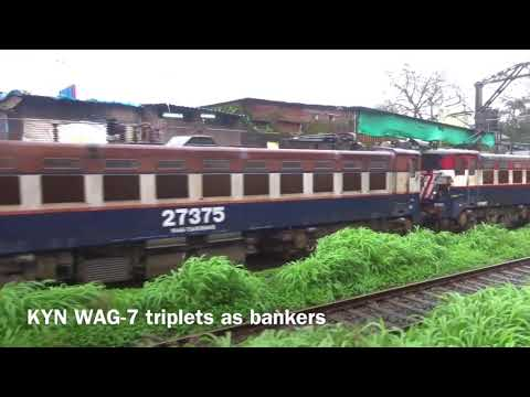 Departing from Pune and Bhor Ghats - Full Journey on Udyan Express