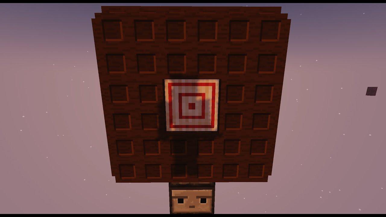Tiro ao Alvo Móvel: Se acertar ele Foge! | Minecraft