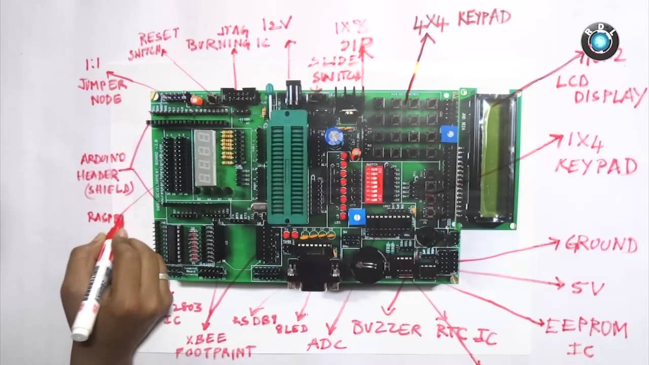 8051 Development Board Brief Introduction Youtube Programmer Circuit