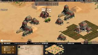 AGE OF EMPIRES 2 - EXPERT PLAYERS - THE VIPER vs MBL !