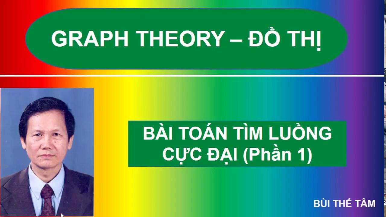 (37) Graph theory: Luồng cực đại và Thuật toán Ford-Fulkerson (Phần 1) – Bui The Tam
