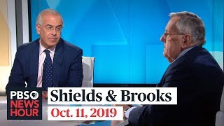 Shields and Brooks on Trump's Syria pullout, impeachment politics