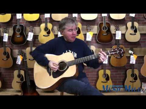 YAMAHA FG800 Acoustic Guitar DEMO