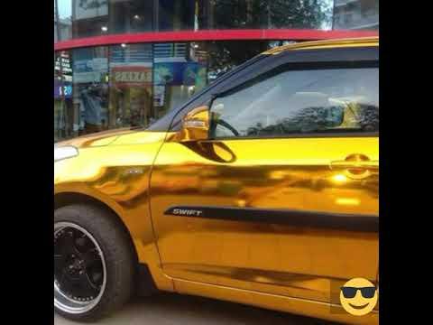 Gold Plated Maruti Suzuki Swift Car Thrissur Kerala Youtube