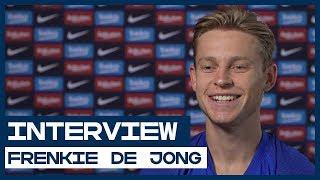 Frenkie de Jong over Ajax en FC Barcelona 'De wedstrijden met Ajax tegen Juventus en Real Madrid waren de mooiste'