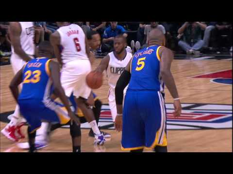 Chris Paul Delivers A Bullet Pass To J.J. Redick