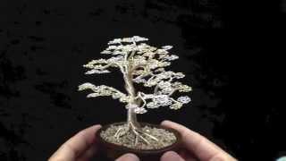 Bonsai Tree Wire Sculpture - Tree of Gondor