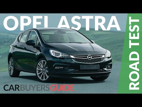 Opel Astra Review 2017