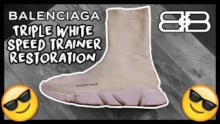 868b64b51bd6e Balenciaga Speed Trainer White