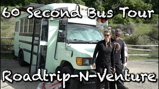 60 Second Bus Tour: Roadtrip N Venture