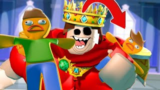 We TURNED BISCUITS and the SWEET KING SWALLOWED US l ROBLOX