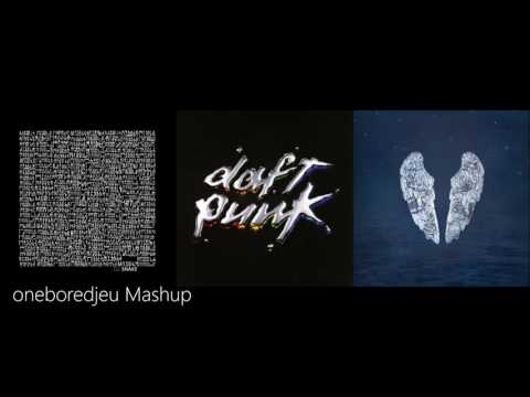 Magic in the Middle - DJ Snake feat. Bipolar Sunshine vs. Daft Punk & Coldplay (Mashup)