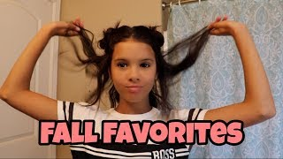 5 Fall Favorite Hairstyles!