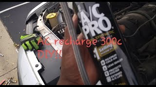 How to Make Your AC Blow ICE COLD!! Chrysler 300C