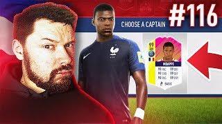 MY BEST DRAFT EVER?! - #FIFA18 DRAFT TO GLORY #116