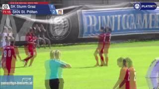 20.08.16 SK Sturm Graz - SKN St. Pölten - 1:3  (2. Halbzeit / 71:19) am 20.08.2016 15:31