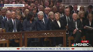 Chris Matthews Claims Hillary And Jimmy Carter Dislike Each Other While Covering Bush Funeral