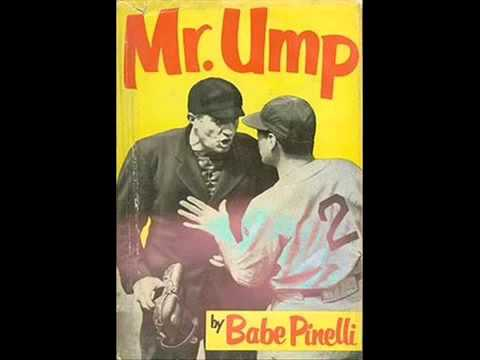 "Ralph Arthur ""Babe"" Pinelli, born Rinaldo Angelo Paolinelli -Umpire World Series 1956"