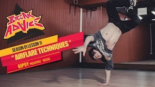How to Breakdance: Airflare by Gipsy | Break Advice