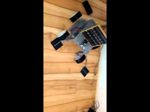 Solar operated sonic cruiser robot (path finder)