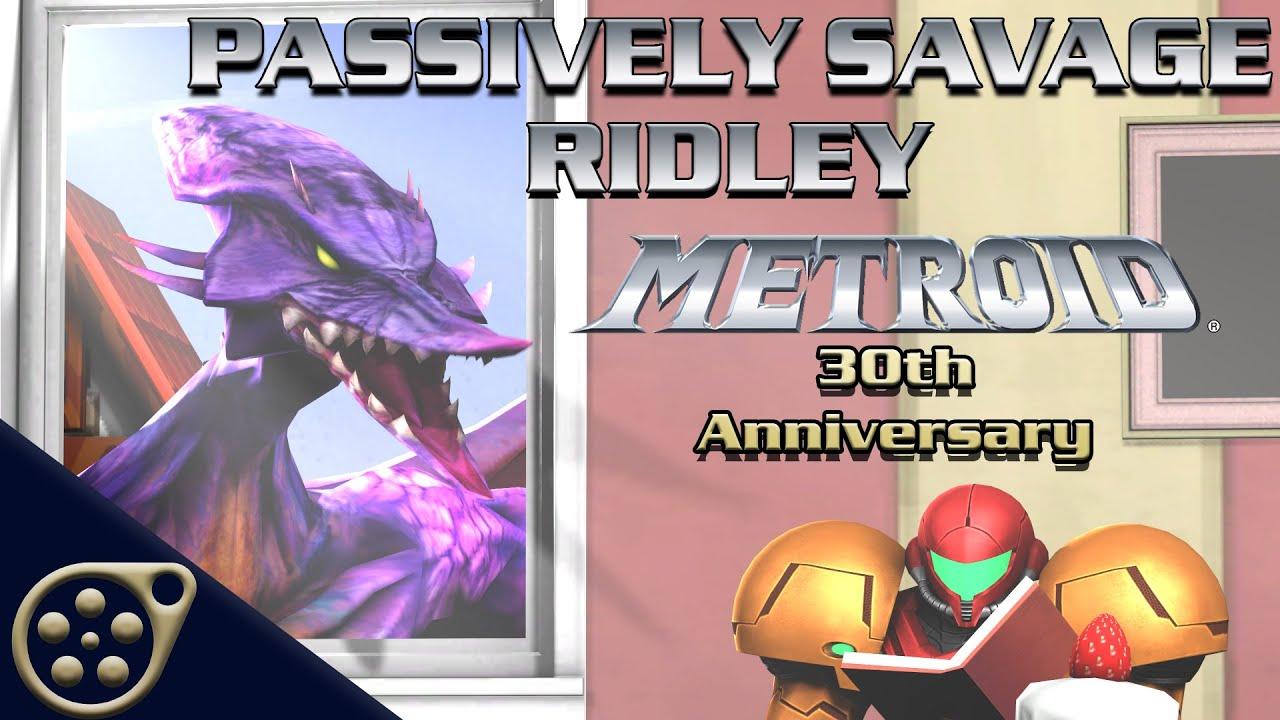 passively savage ridley metroid 30th anniversary sfm animation
