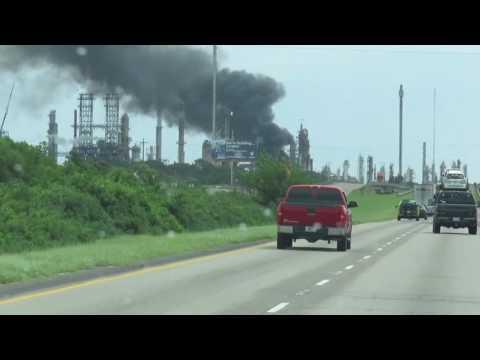 ConocoPhillips fire
