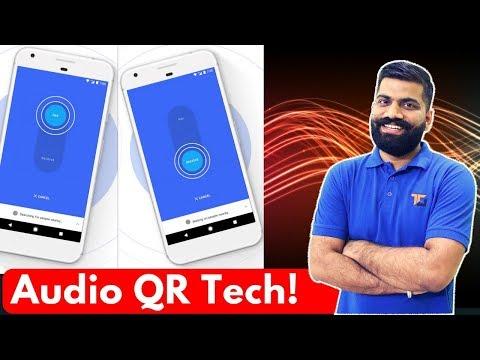 Data Transfer with Ultrasound - AudioQR Technology - No WiFi No Bluetooth