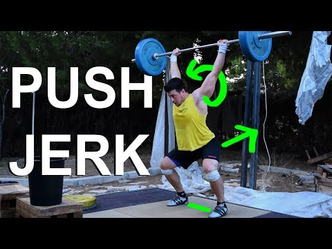 Details for a good push jerk
