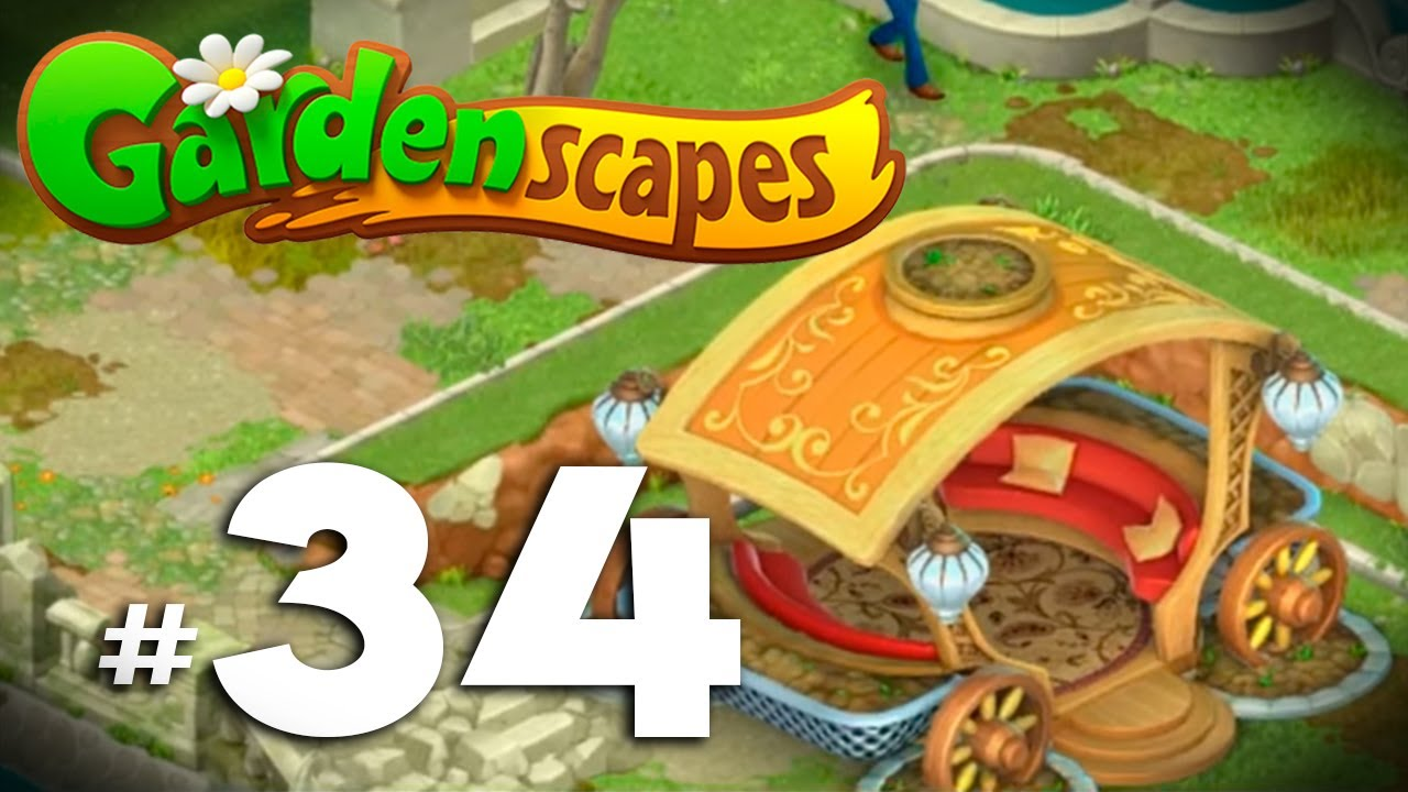 Gardenscapes New Acres 17 Nivel 1225 1250 Carruaje Restaurado Espa Ol Youtube