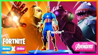 AVENGERS IS COMING! SKINS in the GAME, INFORMATION   FORTNITE