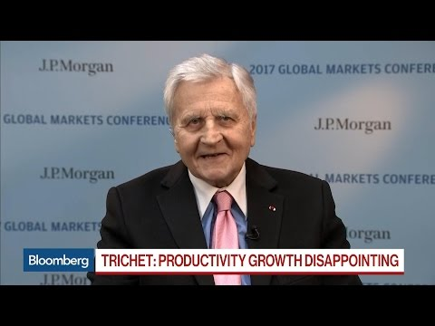 Jean-Claude Trichet Says U.S., Europe Growing 'Miserably'