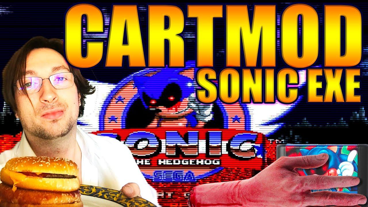 Sonic.EXE EN CARTMOD ROMHACK GAMEPLAY+ASTUCE POUR SURVIVRE - FR