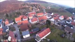 FPV Flug über Liebenau - Zwergen