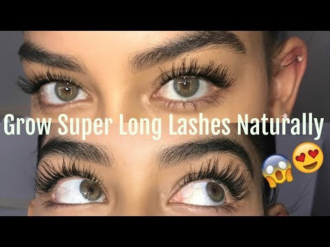 HOW TO GROW YOUR LASHES NATURALLY
