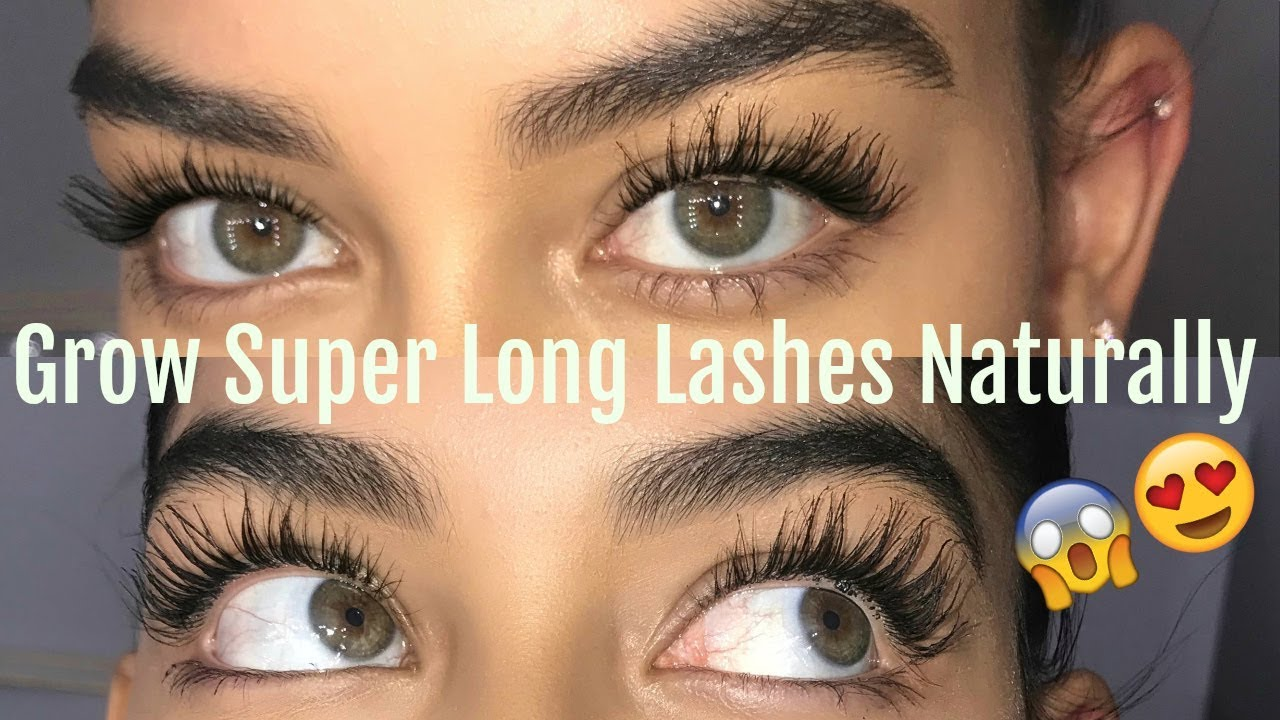 How To Make Your Eyelashes Grow Back Home Remedies
