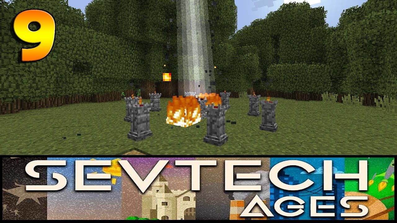 SevTech Ages Ep 9 - Abyssalcraft Rituals - Modded Minecraft